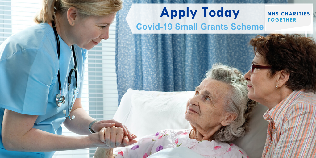 NHS Charities Together COVID-19 Urgent Appeal – Grant Applications Now Open!