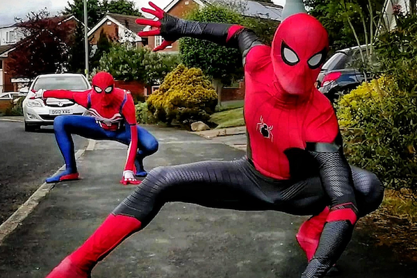Stockport Spidermen among our fundraisers to receive the PM's Points of Light Award