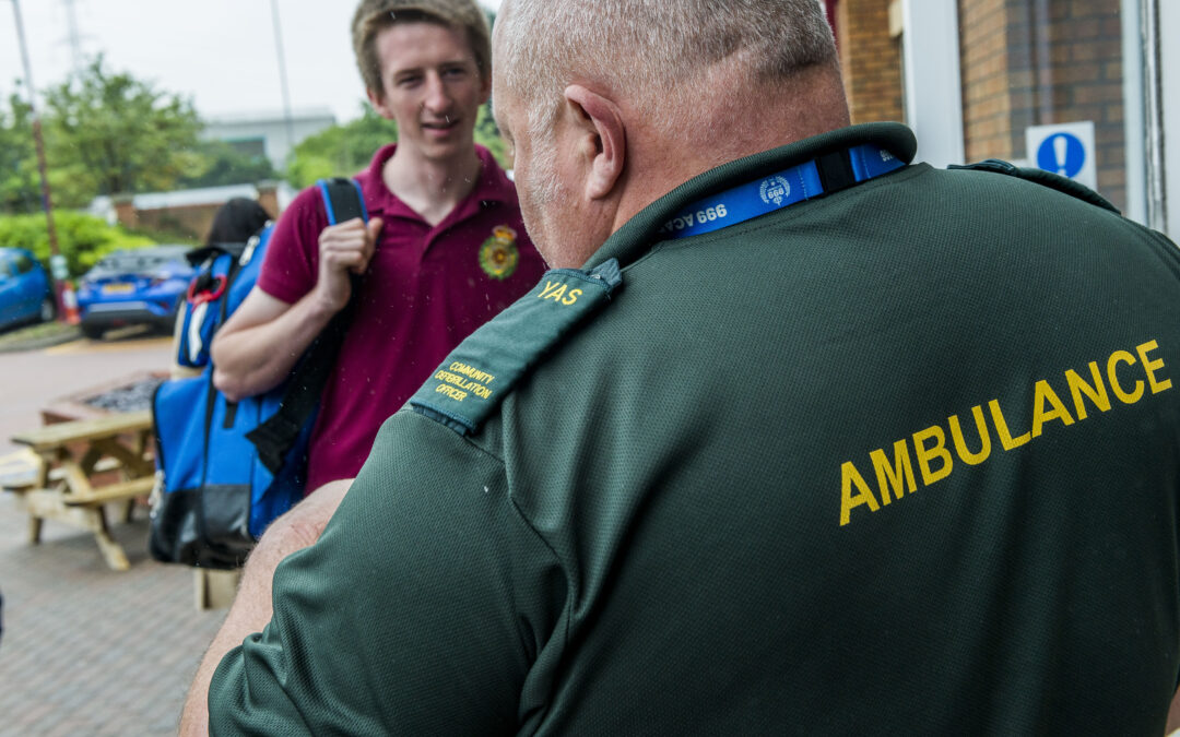 NHS Charities Together allocates £7m to fund thousands of ambulance service volunteers