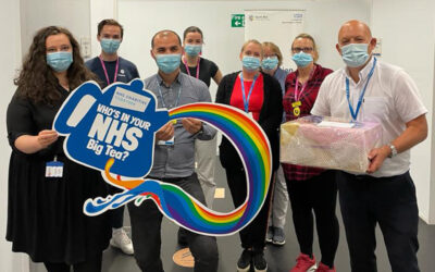 Thousands of community groups, individuals and businesses join NHS charities in supporting the NHS Big Tea to celebrate the NHS's birthday today