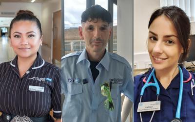 Personal stories from NHS staff inspire 'thank you' pins